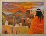 Spirit of the Sunset Painter
