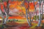 Australian Sunset à la South Pacific