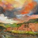 Pueblo Sunset à la Gigi