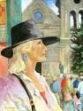 Artist in Santa Fe